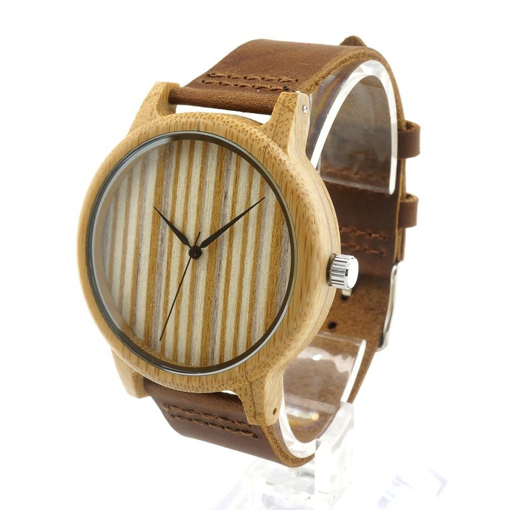 Amazon.com: Taonology wood nature gift watch straps genuine ...