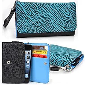 Women's Zip Wallet with Strap for HTC DROID ERIS