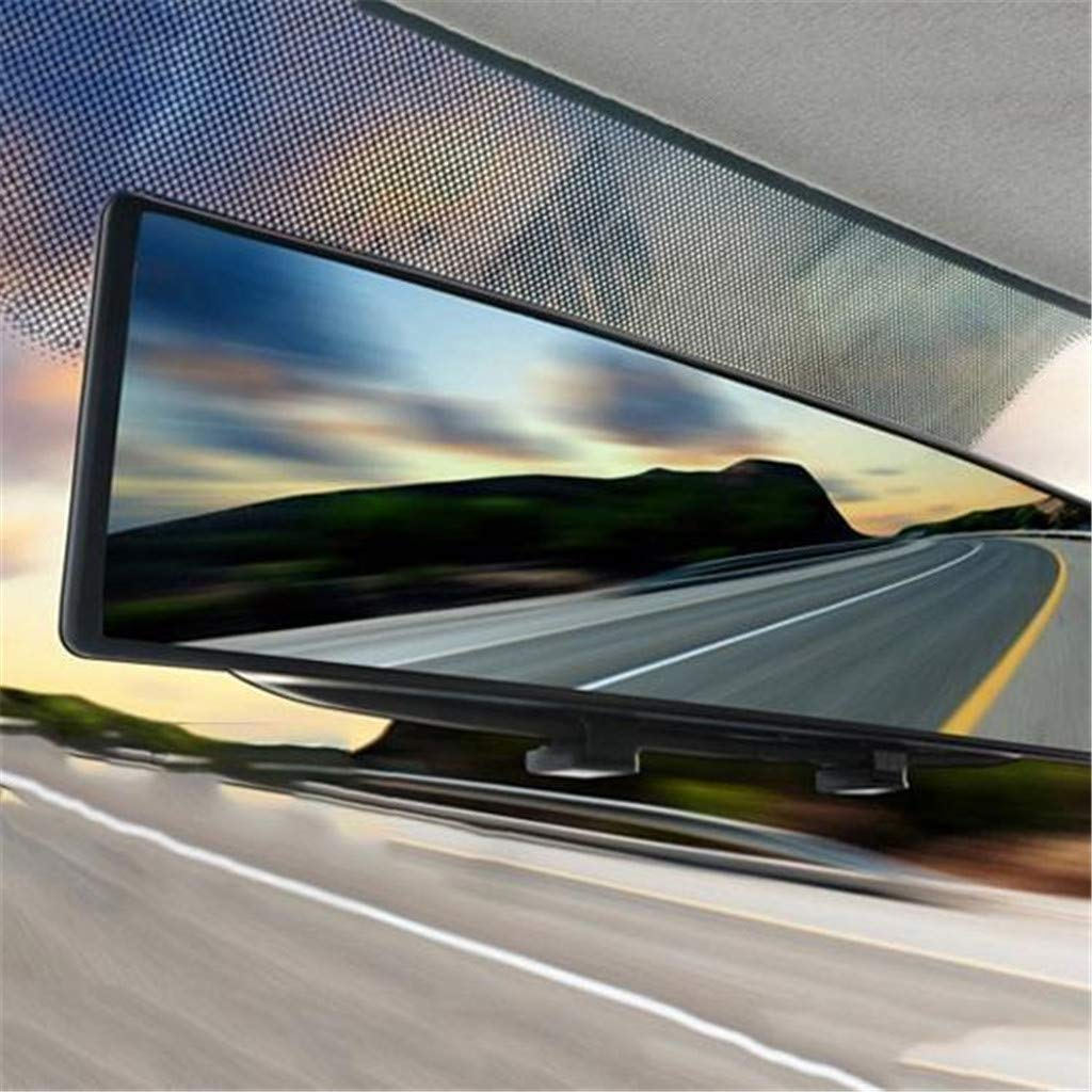 1PC 300mm Wide Curve Inner Clip On Rear View Rearview Mirror Universal Car Truck Sacow Rearview Mirror