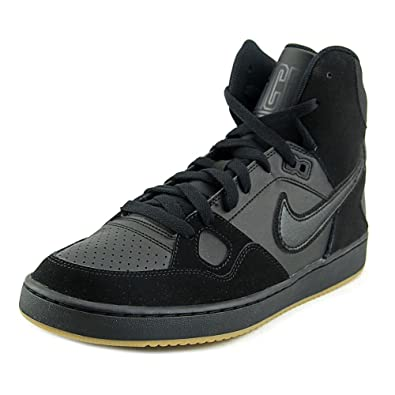 Nike Son Of Force MID BlackBlk Gm Light Brn Anthracite Size 8