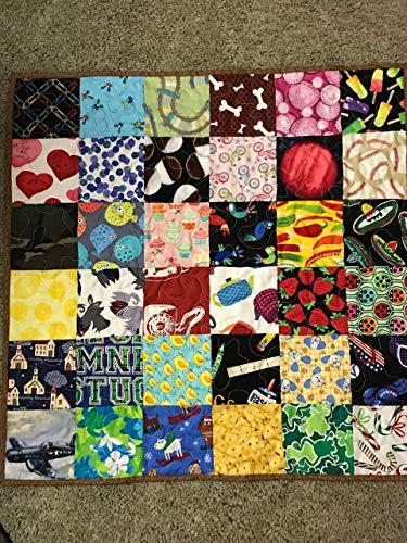 I Spy game quilt, child's quilt, reversible quilt, 27
