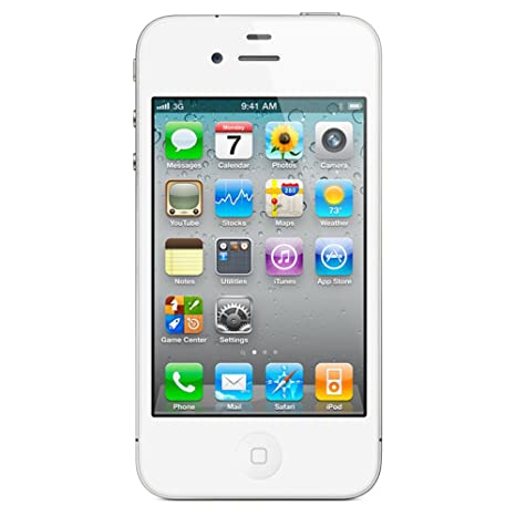 73dfabcc551247 Apple iphone 4S iOS Mobile Phone (White) Price  Buy Apple iphone 4S iOS Mobile  Phone (White) Online in India -Amazon.in