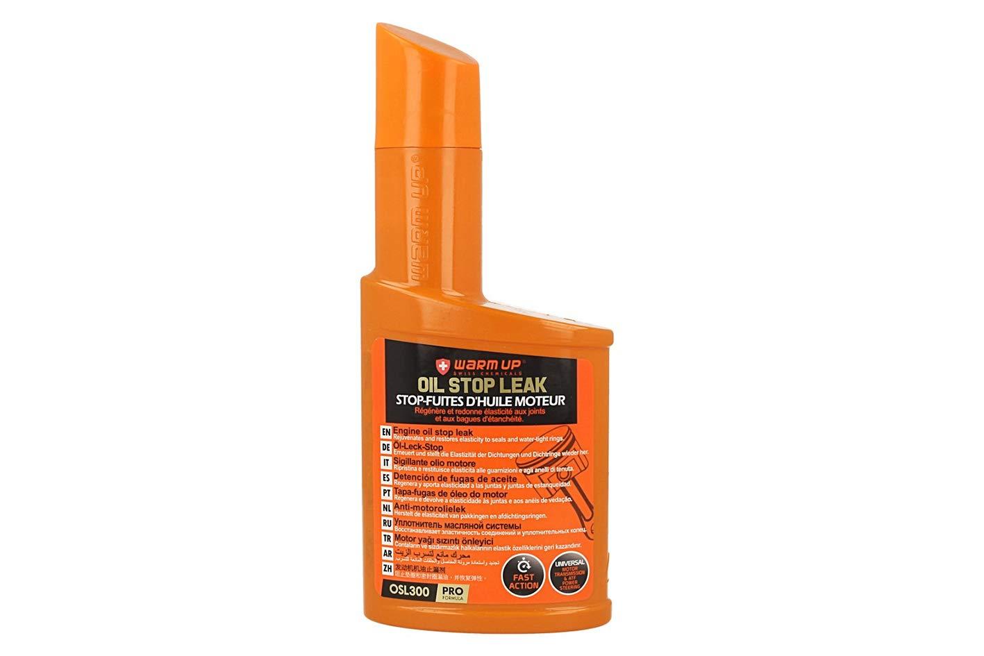 Warm Up - Oil Stop Leak, olio anti-goccia motore, scatola, direzione e A.T.F.
