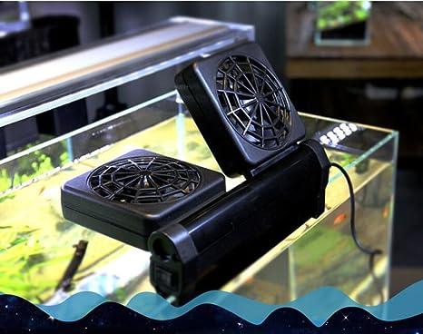 LONDAFISH Acuario Chillers Acuario Ventilador Tanque de Peces Ventilador Marina 2 Ventilador: Amazon.es: Productos para mascotas