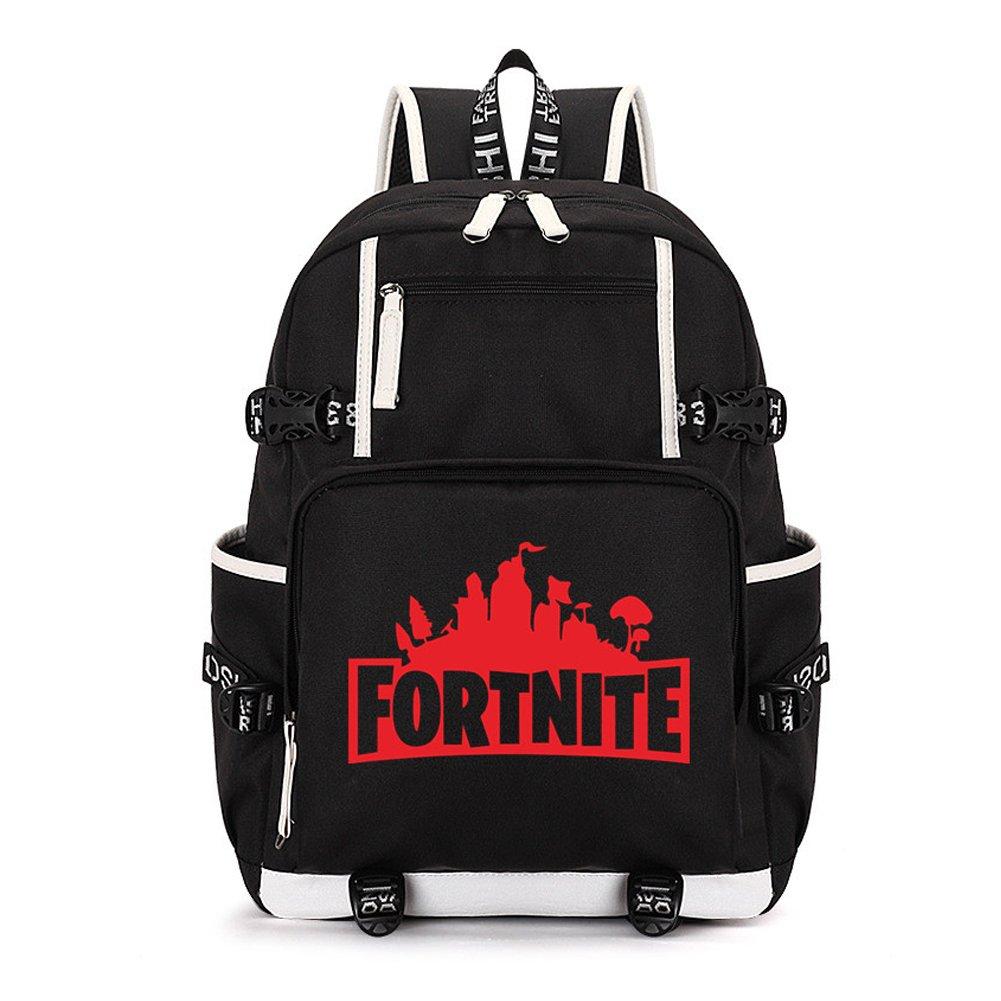 Fortnite Backpack Children Kids School Bag Laptop Backpack Bookbag for Men  Boys Girls (Red)  Amazon.ca  Luggage   Bags d21e66fa23638