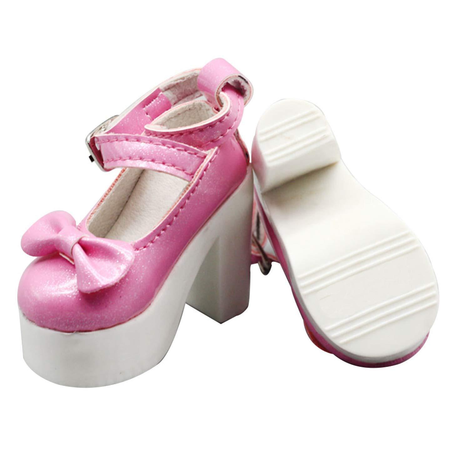 para 16 Inch Mu/ñeca Botas dryujdytru 1pair 7.8cm Colores Surtidos Princesa Alto Tac/ón Zapatos para Bjd Mu/ñecas Rosa 1//3 Mu/ñeca Accesorios