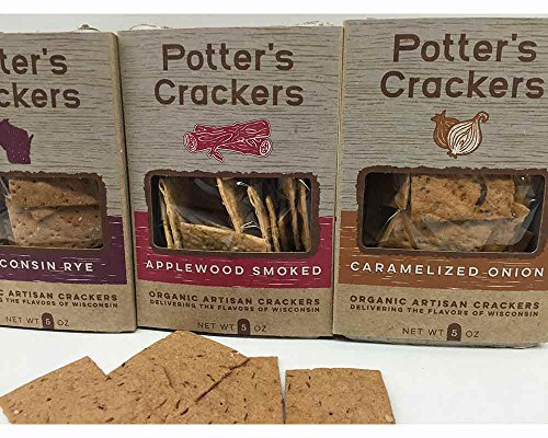 Variety Package Wisconsin (Classic Organic Wisconsin Cracker Variety Gift Pack)