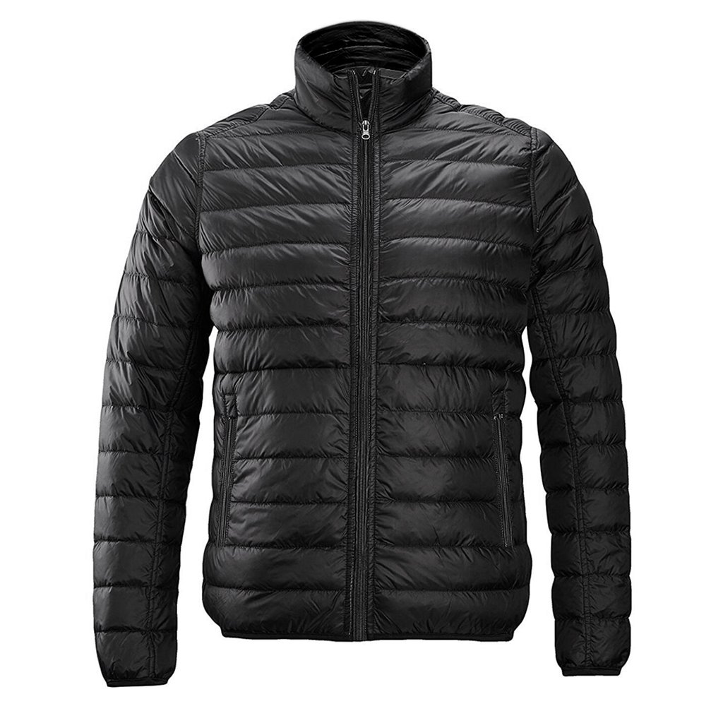 redder Men Heated Jacket Lightweight Cotton Down Jacket Outwear With New Heating System Auto-Heated-Battery Not included