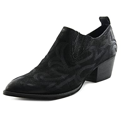 dd877ddd61 Amazon.com: Dolce Vita Women's Samson Black Nubuck Boot 10 M: Clothing