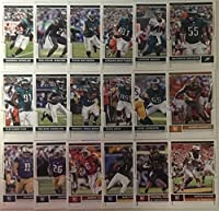 2017 Panini Score 18 Card Philadelphia Eagles Team Set W/ Rookies