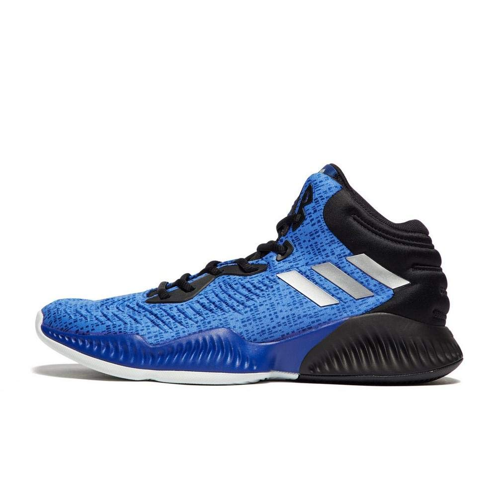 Bleu (Croyal Silvmt Cnoir Croyal Silvmt Cnoir) adidas Mad Bounce 2018, Chaussures de Basketball Homme 40 2 3 EU