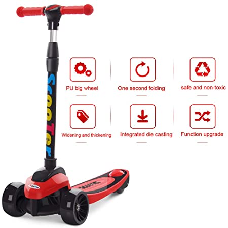 Patinete Para Niños Stunt Scooter Wheel Scooter Patinete De ...