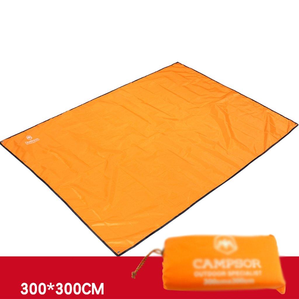 ZXLDP Picknickdecken Ultra-Light Portable Oxford Tuch Zelt Feuchtigkeitsfeste Pad Pad Pad Wasserdicht Outdoor Camping Picnic Matten Blau Grau Orange Zelt Zubehör B0734H4KY5   Attraktiv Und Langlebig  ad9a00