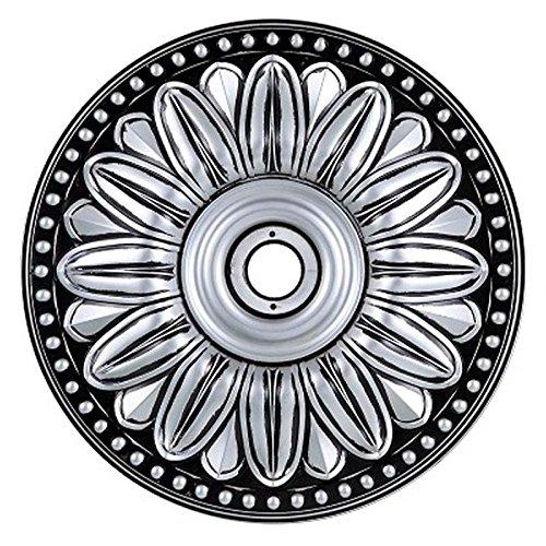 Pewter Ceiling Medallion (Elegant Lighting Medallion, Pewter, 16