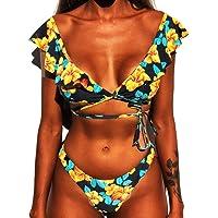 CheChury Mujer Sexy Conjunto De Bikini 2020 Verano Sexy Push Up Ropa De Playa Bikini de Triángulo Bikini Mujer Acolchado…