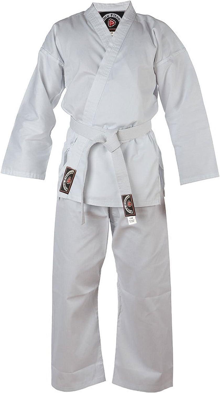 "ProForce 1.5/"" Double Wrap Solid Karate Belts Martial Arts Taekwondo Judo TKD"
