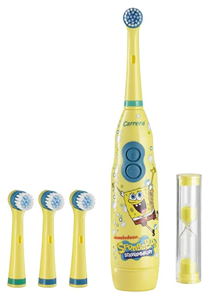 SpongeBob 9314021 - Cepillo de dientes eléctricos en caja, diseño de Bob Esponja