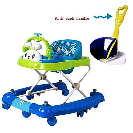YUMEIGE Andadores Andador para Bebés con toldo Andadores, juguetes ...