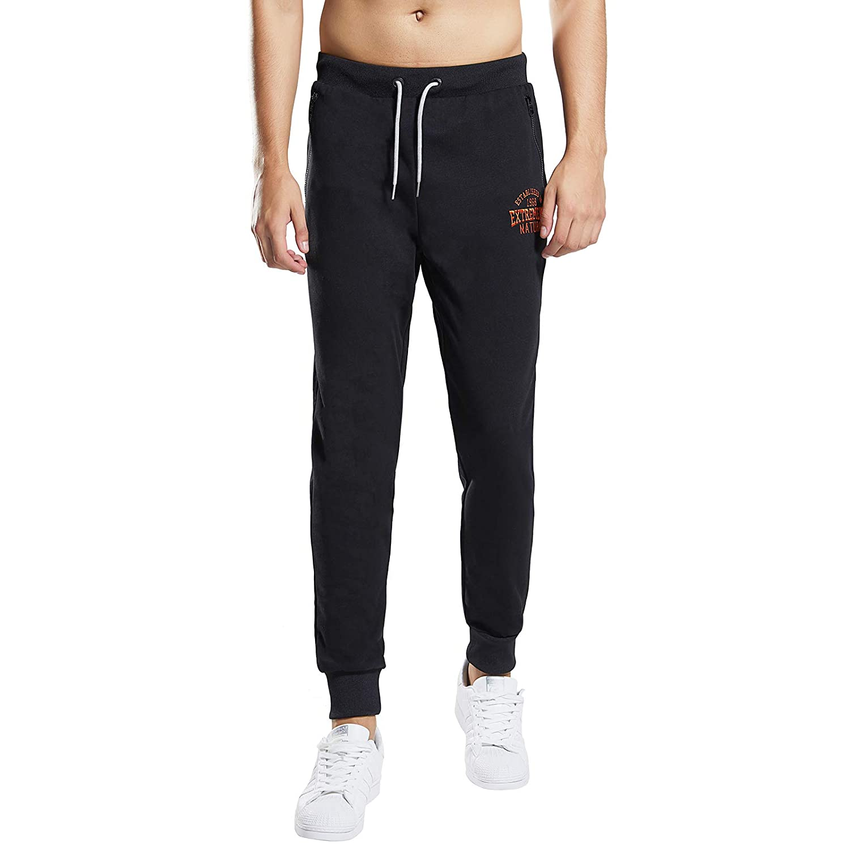 Extreme Pop Hombre Pantalones de ch/ándal de Terry Joggers Pantalones Deportivos de Punto para ni/ños Bolsillo con Cremallera