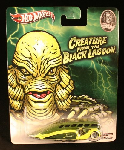 Hot Wheels Low Flow The Creature from The Black Lagoon / Universal Studios Monsters 2013 Pop Culture Series 1:64 Scale Die-Cast Vehicle