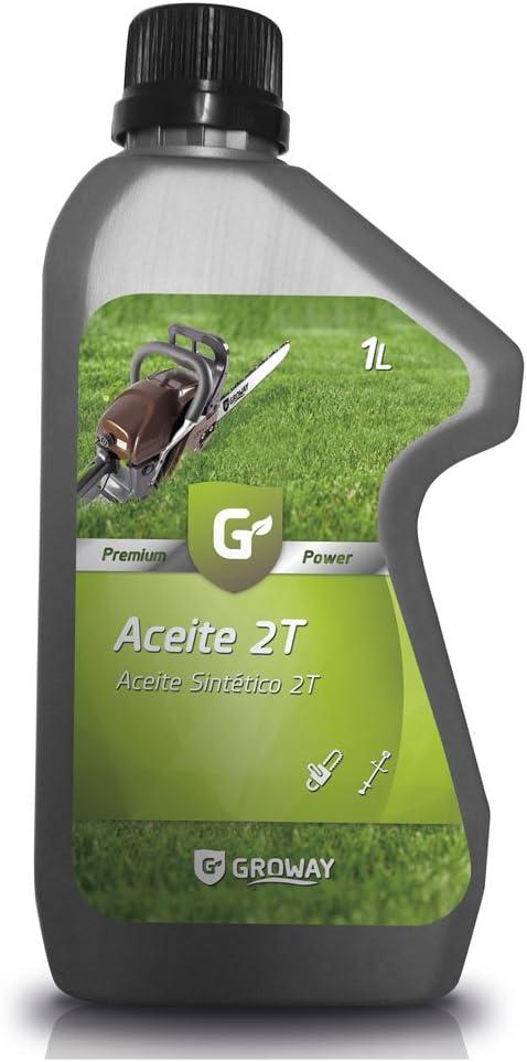 Groway Premium Power - Aceite para motor 2T sintético 1 L