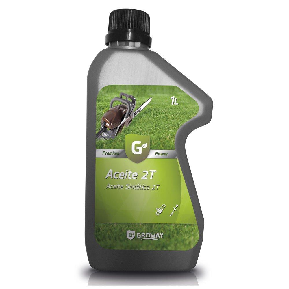 Groway Premium Power - Aceite para motor 2T sintético 1 L: Amazon ...