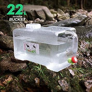 12 litros/18 litros/22 litros sin BPA plástico reutilizable plástico agua portador contenedor