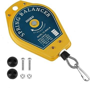 soporte para herramientas Spring Balancer Portaherramientas retr/áctil con muelle capacidad de carga de 0,5-1,5 kg con accesorios para herrajes.