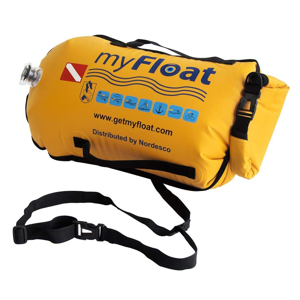 Nordesco MyFloat Floating Dry Bag, Orange