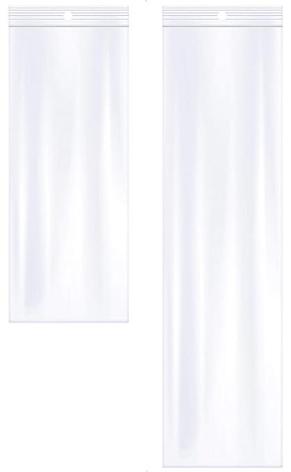 100PCS Jewelry Ziplock Zip Zipped Lock Reclosable Plastic Poly Clear Bags 38FD