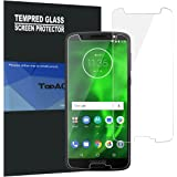 Motorola Moto G6 Screen Protector, TopACE 9H Hardness [Case Friendly][Anti-Scratch][Bubble Free] Tempered Glass for Moto G6/Moto G (6th Generation) 2018 (2 Pack)