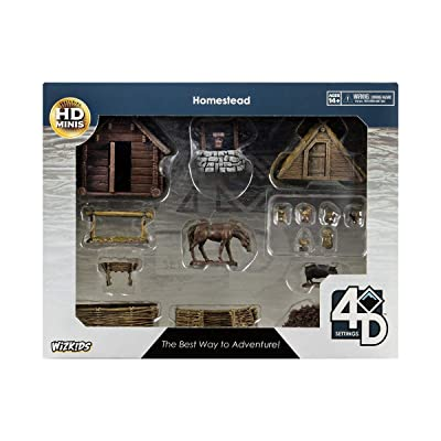 WizKids 4D Settings: Homestead: Toys & Games