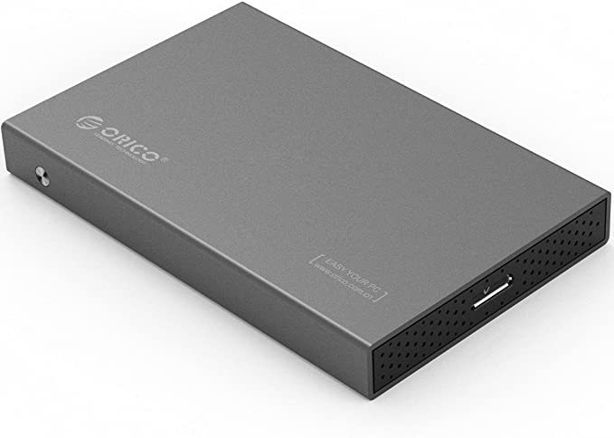 ORICO Carcasa para Disco Duro SATA III HDD/SSD de 2,5 Pulgadas con ...