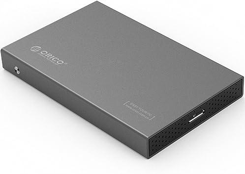ORICO Carcasa para Disco Duro SATA III HDD/SSD de 2,5 ...