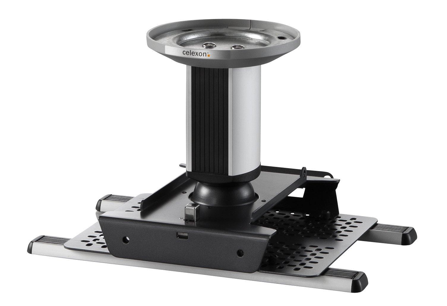 celexon Universal Projector Ceiling Mount Bracket MultiCel 1500 Expert, 6'' below the ceiling, maximum load of 55 lbs