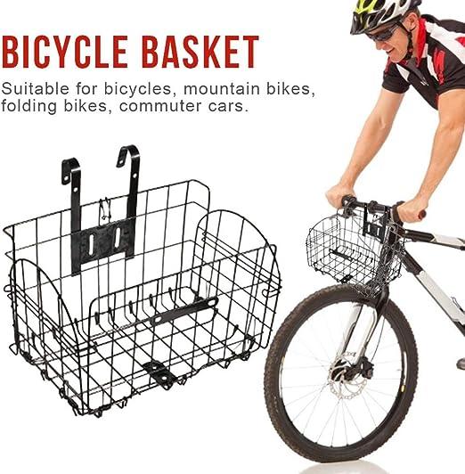 Al Aire Libre Cesta De Bicicleta Plegable Colgando Cesta Bicicleta ...