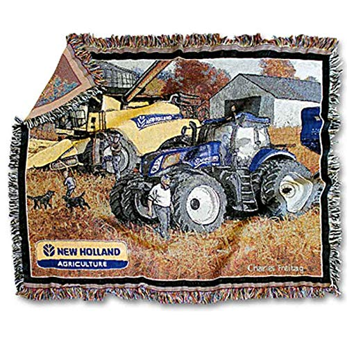(New Holland Limited Edition Harvest Tapestry by Charles Freitag NH2159)