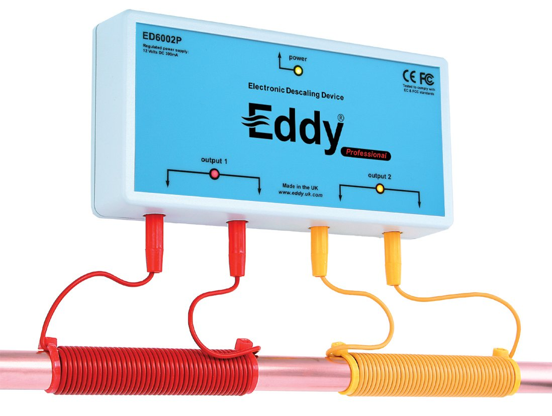 3. Eddy Electronic Water Descaler and Alternative Water Softener