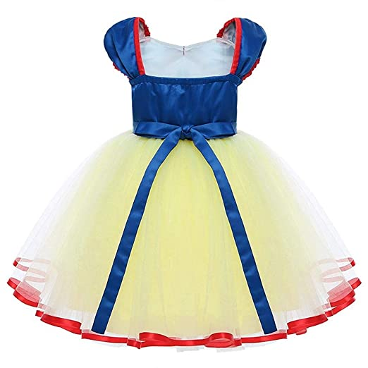 TOPUNDER Lovely Lace Party Vintage Vestidos Princess Tulle Tutu Dress Kids Baby Girl