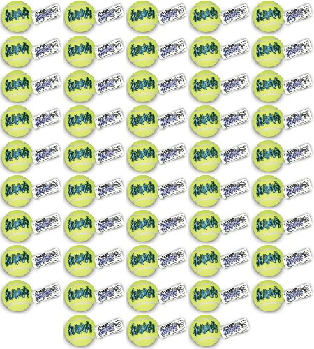 Kong Air Dog Squeaker Tennis Ball Large 48pk