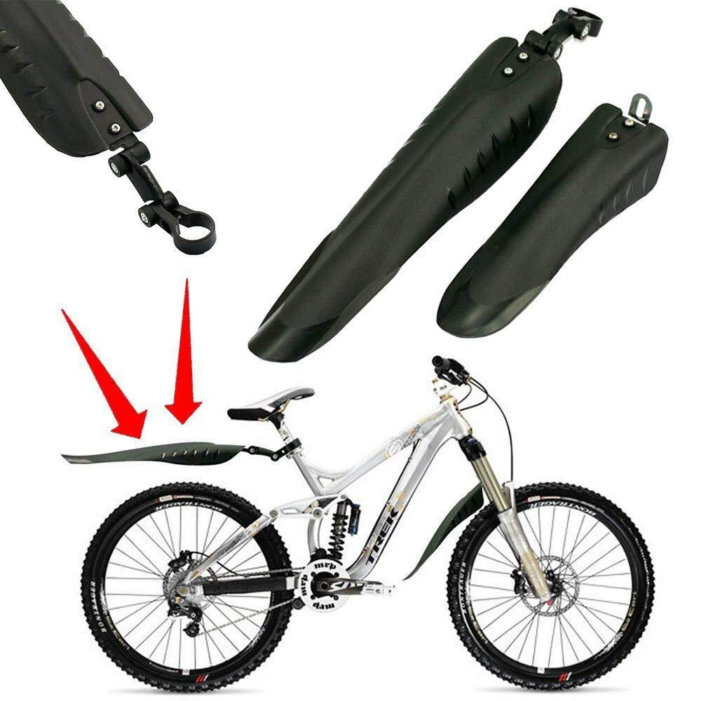 MTB Bike Bicycle Cycling Road Wheel Front Rear Mudguard Fender Mud Guard Set