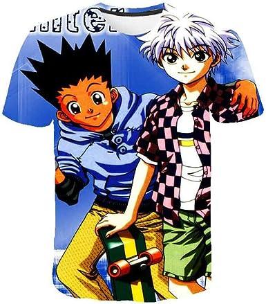 Unisex 3D Impreso Anime Gráfico De Dibujos Animados T-Camisa ...