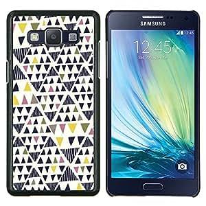 Stuss Case / Funda Carcasa protectora - Arte geométrico del triángulo - Samsung Galaxy A5 A5000