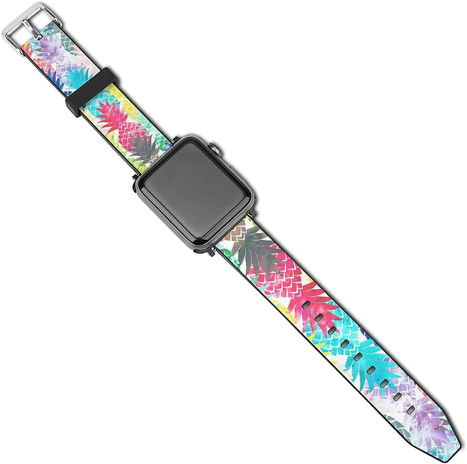 Lightweight Sport Band for Apple Watch Band 38mm 40mm 42mm 44mm Breathable iWatch Band Series 5 4 3 2 1 Elegant Cupcakes Wristband for Men