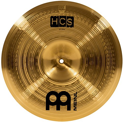 "Meinl 16"" China Cymbal - HCS Traditional Finish Brass for Drum Set, Made In Germany, 2-YEAR WARRANTY (HCS16CH)"