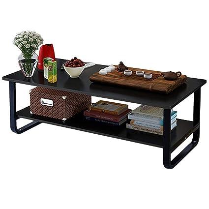 Amazoncom Hans Alice Modern Coffee Table Storage Shelf Living