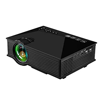 TQTQ UC46 LED Proyector WiFi Wireless Mini Portable Multimedia ...