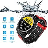 Cheap FS08 Smartwatch Swim Watch GPS Healthy Heart Rate Touch Screen Bluetooth 4.0 Compass Altimeter Smart Watch Waterproof for Swimming Multi-mode Amart Watch for Men Women, Compatible with Both IOS and An