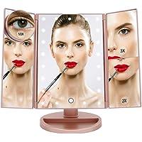 Boston Tech Espejo Maquillaje con Luz LED BE104