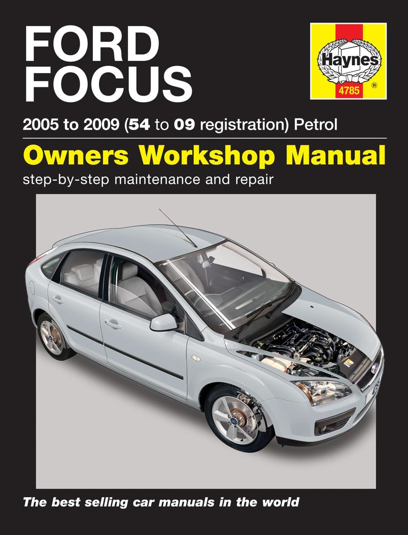 Ford Focus 1.4 1.6 1.8 2.0 LX Zetec Titanium 2005 - 2009 Haynes Manual
